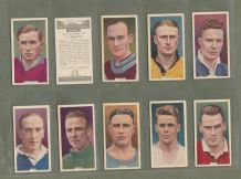 Cigarette cards set football stars 1936, S. Matthews, Arsenal,